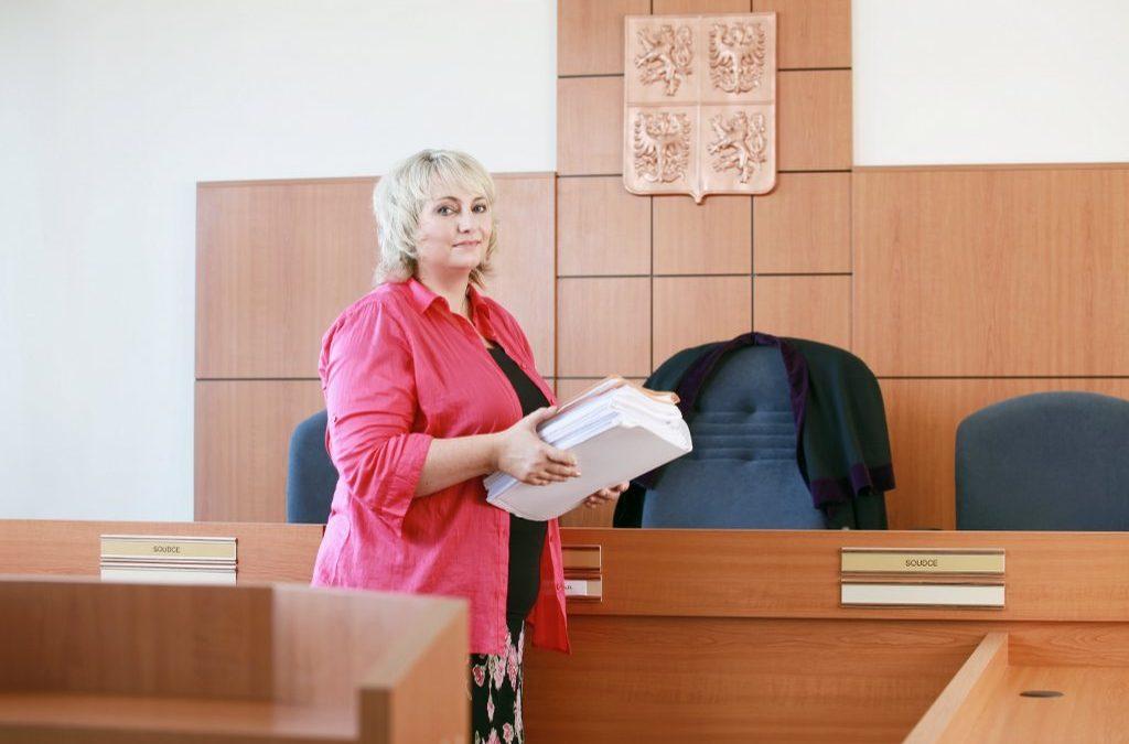 Judge Hrdličková in Tunis