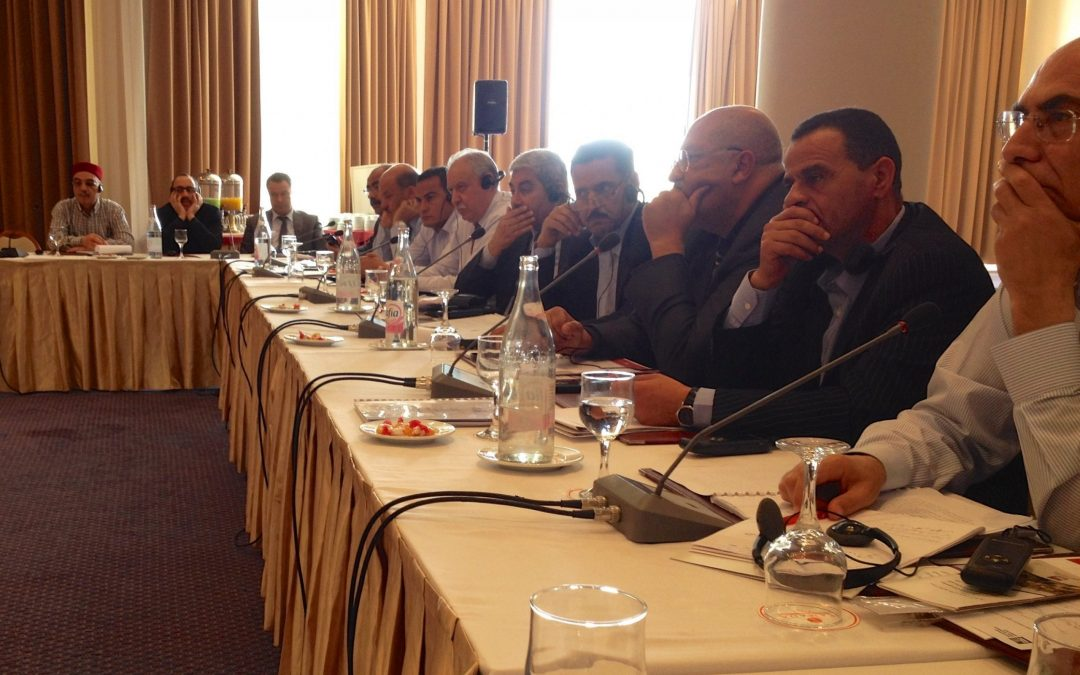Trainings for Court Presidents Held in Tunis