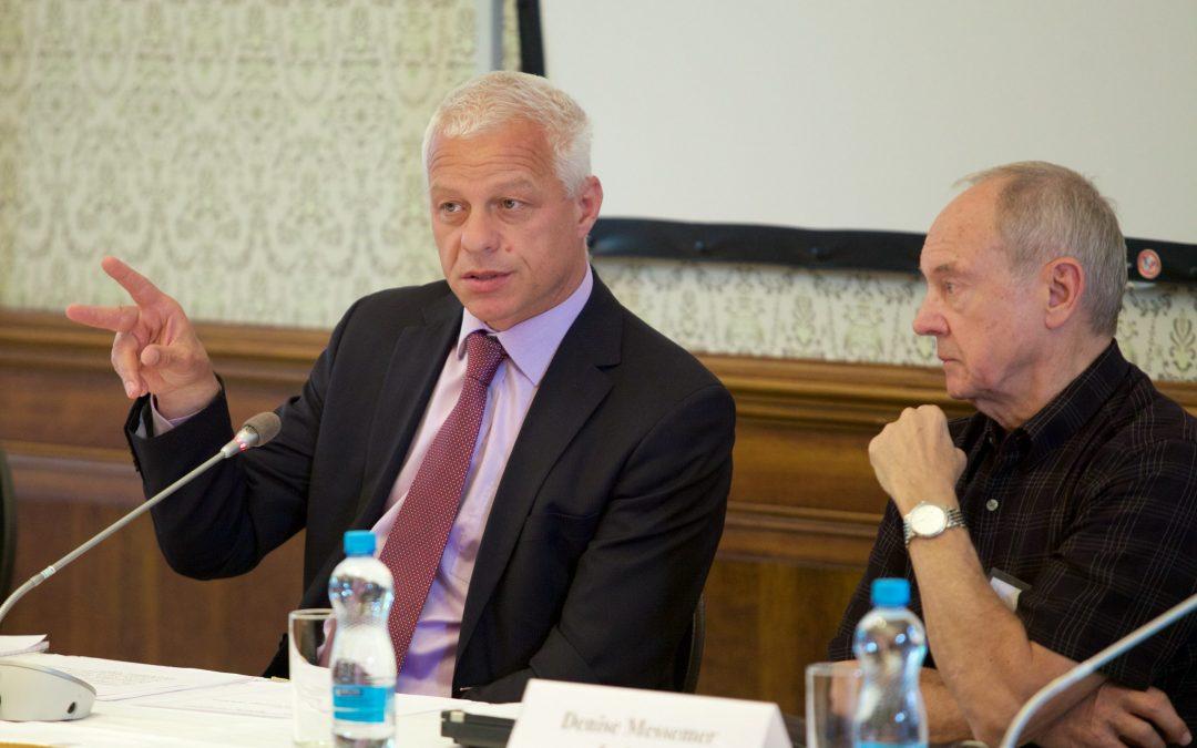 OECD Anti-Bribery Committee Head Drago Kos Spoke at CEELI Institute's Anti-Corruption Course