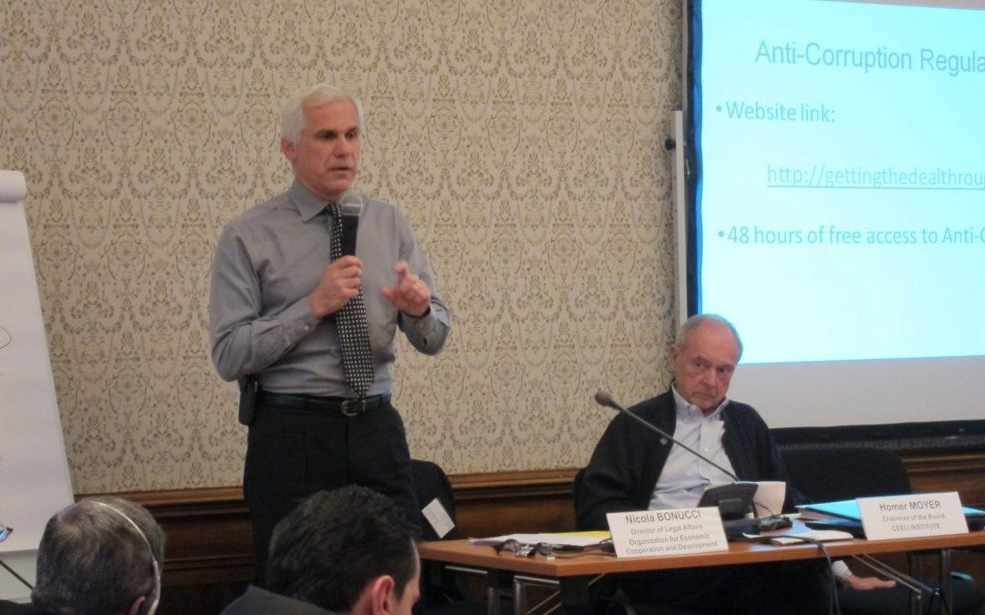 Nicola Bonucci Delivers Anti-Corruption Keynote Address